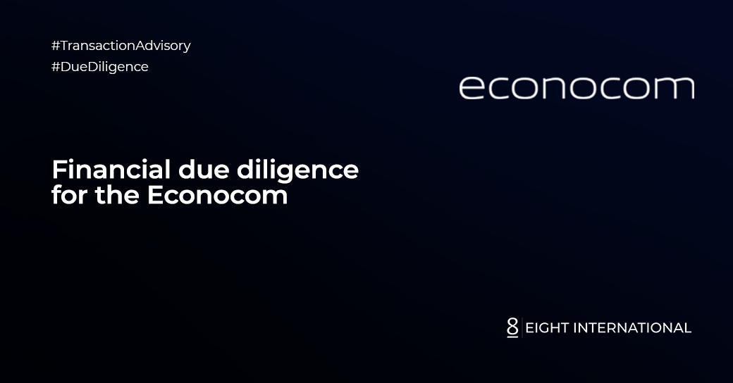 Financial due diligence for the Econocom