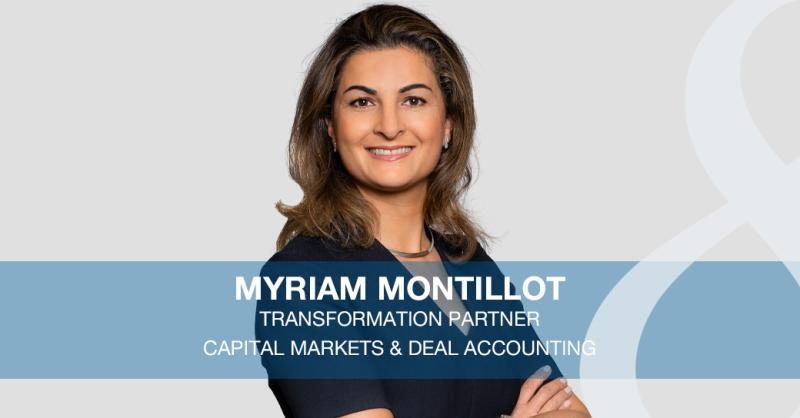 Myriam Montillot joins Eight Advisory as Capital Markets & Deal Accounting Partner