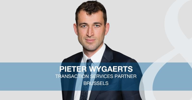 Pieter Wygaerts joins Eight Advisory's Brussels office as a Transaction Services Partner