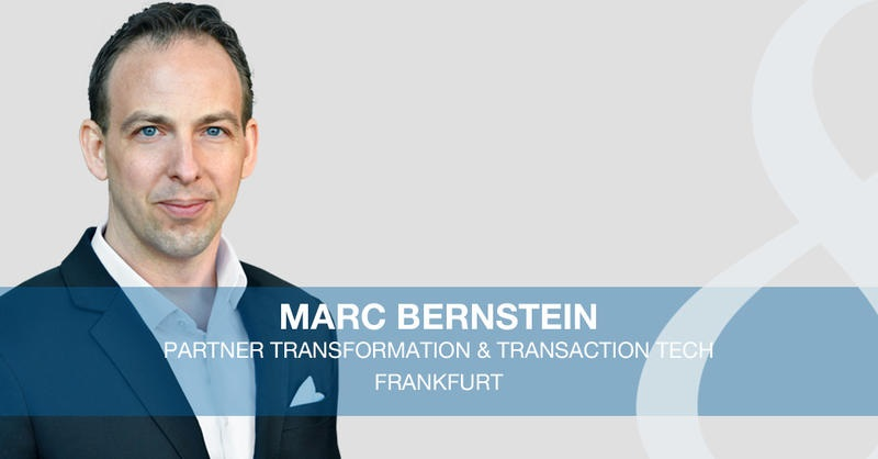 Marc Bernstein joined Eight Advisory's Frankfurt office as a Transformation & Transaction Tech Partner
