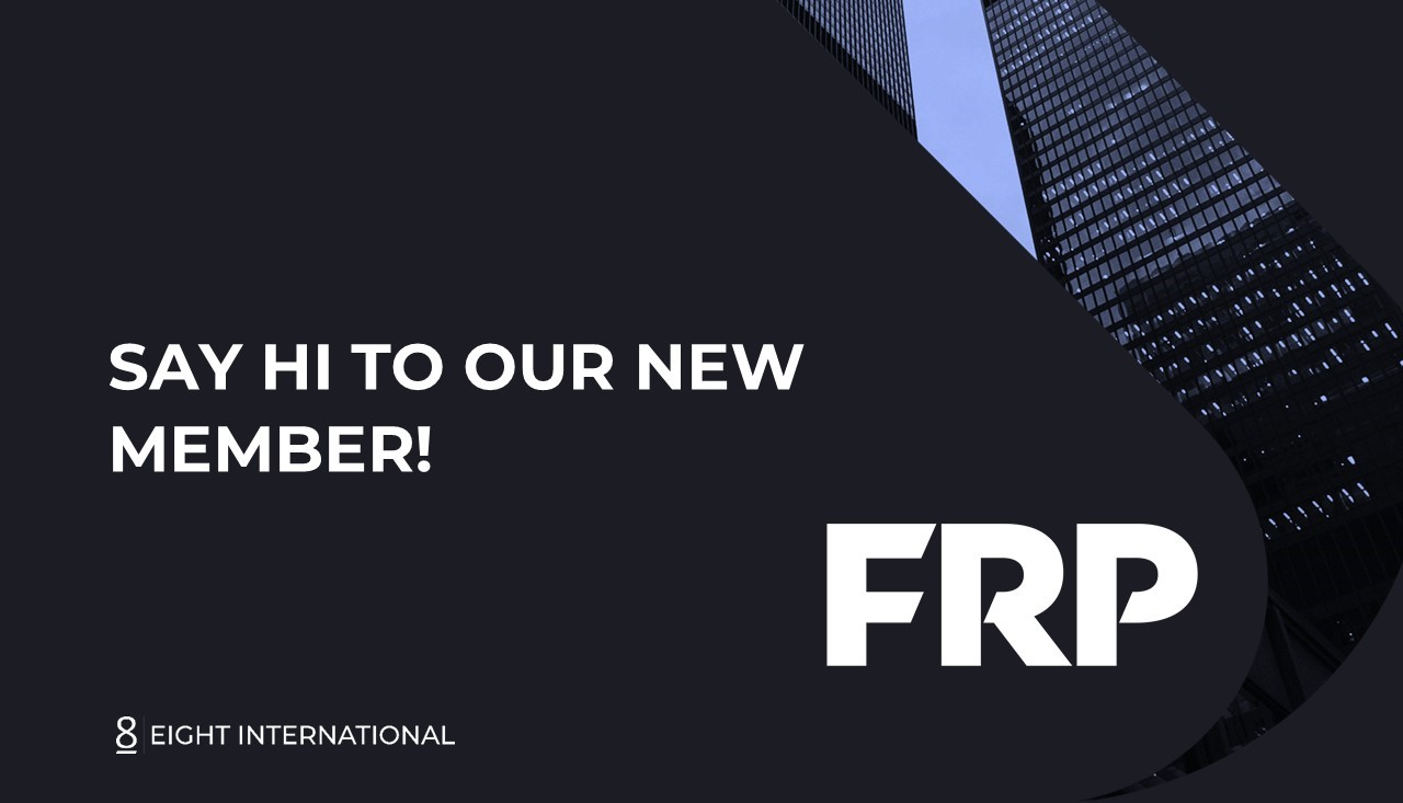 Eight International further reinforces its international presence with FRP